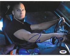 Vin Diesel Signed Fast & Furious Autographed 8x10 Photo (PSA/DNA) #V24278