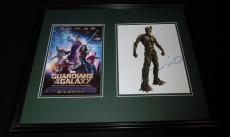 Vin Diesel Signed Framed 16x20 Photo Set Guardians of the Galaxy Groot