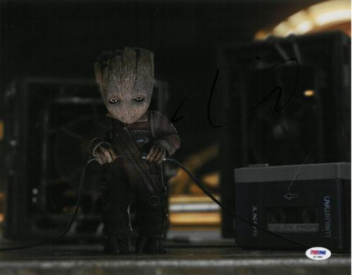 Vin Diesel Signed Guardians Authentic Autographed 11x14 Photo PSA/DNA #AE17802