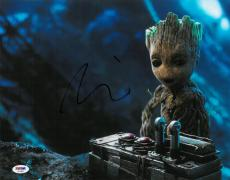 Vin Diesel Signed Guardians Authentic Autographed 11x14 Photo PSA/DNA #AE17803