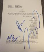 """Vin Diesel The Rock & Cast Signed Autograph """"fast 5"""" Furious Movie Script Coa"""