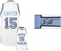 Vince Carter North Carolina Tar Heels Autographed Jersey
