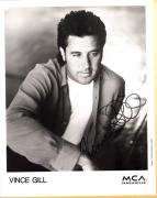 Vince Gill-signed photo-28 a - JSA coa