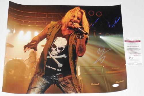 Vince Neil Autographed 16x20 Photo (motley Crue) - Jsa Coa!