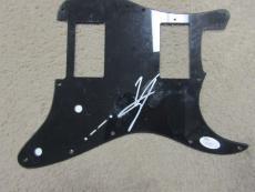 Vince Neil autographed signed Guitar Pic Guard JSA COA