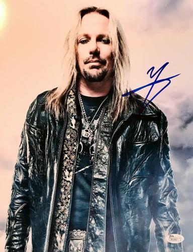 VINCE NEIL (Motley Crue) signed/ autographed 11x14 Photo-JSA P21907