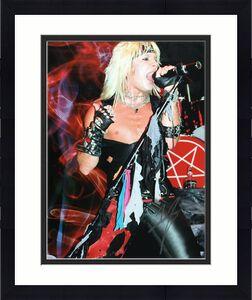Vince Neil Signed 11x14 Photo *Motley Crue *Musician BAS Beckett H22865