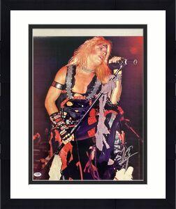 Vince Neil Signed Photo 16x20 Motley Crue Autograph Lead Singer 80's PSA/DNA 2