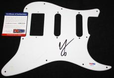Vince Neil signed pickguard, Motley Crue, Girls, Girls, Dr Feelgood,PSA/DNA3