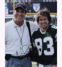 Vince Papale with Mark Wahlberg Autographed Signed 11x14 Photo AFTAL UACC RD