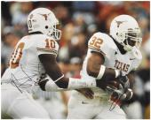 """Vince Young and Cedric Benson Texas Longhorns Autographed 16"""" x 20"""" Photograph"""