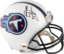 Tennessee Titans Vince Young Autographed Pro Line Helmet