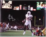 "Vince Young Texas Longhorns Autographed 16"" x 20"" Texas Scoreboard Photograph"