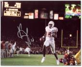 "Vince Young Texas Longhorns Autographed 8"" x 10"" Scoreboard Photograph"