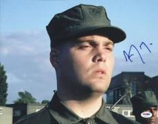 Vincent D'Onofrio Full Metal Jacket Signed 11X14 Photo PSA/DNA #U52674