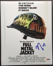 Vincent D'onofrio Signed 8x10 Photo Autograph Psa Dna Coa Full Metal Jacket