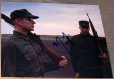 Vincent D'onofrio Signed Full Metal Jacket Gomer Photo