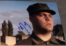 "Vincent D'onofrio Signed ""full Metal Jacket"" Pyle Photo"