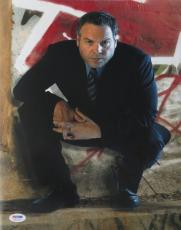 Vincent D'Onofrio Signed Law & Order Authentic 11x14 Photo PSA/DNA #S23244
