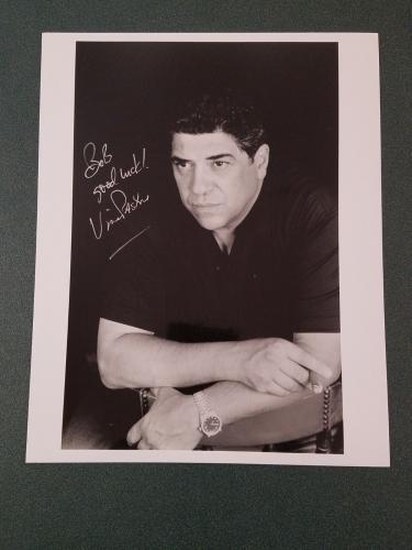 Vincent Pastore autographed Photograph - Pose 5 - JSA COA