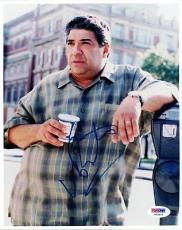 Vincent Pastore Autographed Signed 8x10 Photo The Sopranos PSA/DNA #U94675
