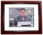 Vincent Pastore Signed - Autographed SOPRANOS 8x10 inch Photo MAHOGANY CUSTOM FRAME - Guaranteed to pass PSA or JSA
