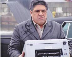 Vincent Pastore Signed - Autographed SOPRANOS 8x10 inch Photo - Guaranteed to pass PSA or JSA