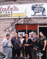 "Vincent Pastore ""Big Puss"" Signed Sopranos 8x10 Photo Beckett BAS #B19070"