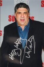 VINCENT PASTORE (Big Pussy- The Soprano's) signed 8x12 photo #2-JSA Guaranteed
