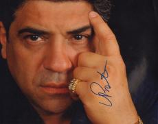 VINCENT PASTORE (Big Pussy- The Soprano's) signed 8x12 photo -JSA Guaranteed