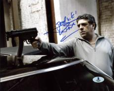 Vincent Pastore Revolver Signed 8X10 Photo Autographed BAS #B13087