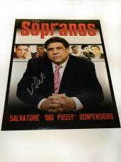 Vincent Pastore signed 11×14 Soprano exclusive photo
