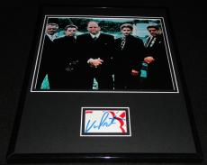 Vincent Pastore Signed Framed 11x14 Photo Display Sopranos w/ cast