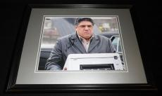 Vincent Pastore Signed Framed 8x10 Photo The Sopranos