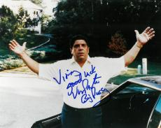 Vincent Pastore Signed Sopranos Authentic Autographed 8x10 Photo PSA/DNA #B78842