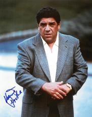Vincent Pastore Signed Sopranos Authentic Autographed 8x10 Photo PSA/DNA #B78844