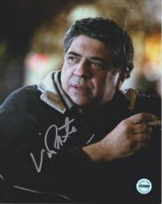 Vincent Pastore Sopranos Signed 8x10 Photo FSG Authenticated 1