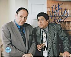 Vincent Pastore Sopranos Signed 8x10 Photo FSG Authenticated 2