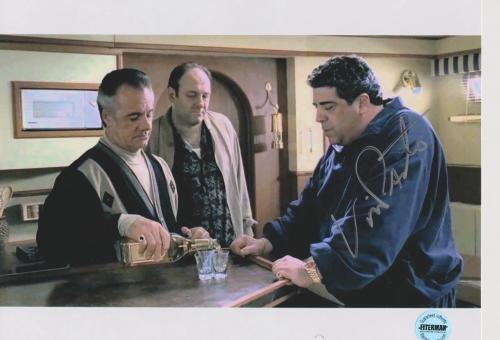 Vincent Pastore Sopranos Signed 8x10 Photo FSG Authenticated 4