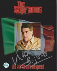 Vincent Pastore Sopranos Signed 8x10 Photo FSG Authenticated 5