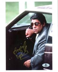 Vincent Pastore The Sopranos Signed 8X10 Photo Autographed BAS #B03867