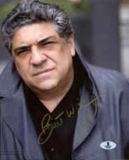 Vincent Pastore The Sopranos Signed 8X10 Photo Autographed BAS #B13022