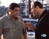 Vincent Pastore The Sopranos Signed 8x10 Photo Autographed BAS #C63879