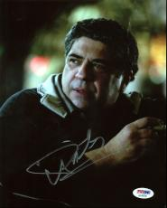 Vincent Pastore The Sopranos Signed 8X10 Photo PSA/DNA #AC45308
