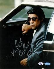 Vincent Pastore The Sopranos TV Actor Signed Autographed Big Pussy 8x10 Steiner