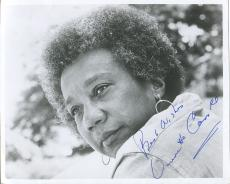Vinnette Carroll Playwright 1st Black Women Director Broadway Signed Autog Photo