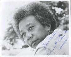 Vinnette Carroll Playwright 1st Black Women Director Broadway Signed Autog Photo