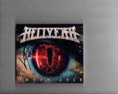 Vinnie Paul Hand Signed Hellyeah Cd Cover+coa   Awesome Pantera Hellyeah Drummer