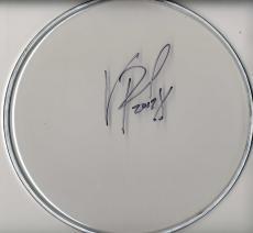Vinnie Paul Pantera Autographed Signed Clear Drumhead UACC RD AFTAL TS