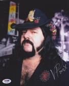 Vinnie Paul SIGNED 8x10 Photo Drummer Pantera PSA/DNA AUTOGRAPHED